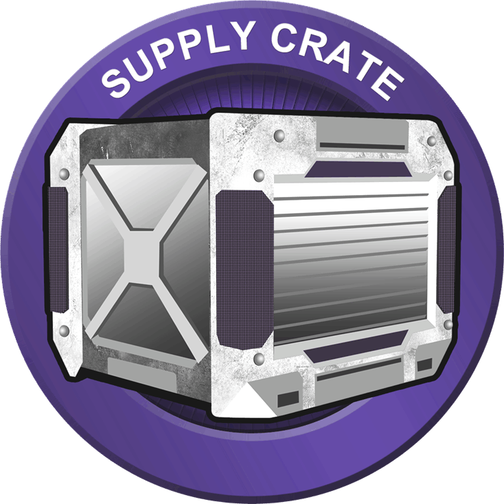supply crate badge